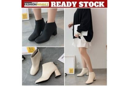 Fashionhomez 8124 Georgenia Zipper Boot ( size 35-40 )